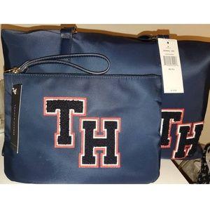 Tommy Hilfiger varsity Weekender duffel bag